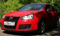 VW Golf GTI: тренажер для мышц живота