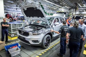 Volvo приступила к производству кроссовера XC40