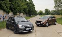 Lifan X50 vs Lada Xray: кто кроссовер больше?