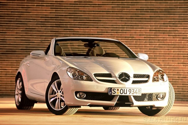 Девушкие отдыхают / Тест-драйв Mercedes-Benz SLK