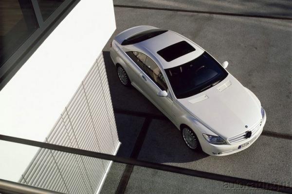 Производная власти / Тест-Драйв Mercedes-Benz CL-class