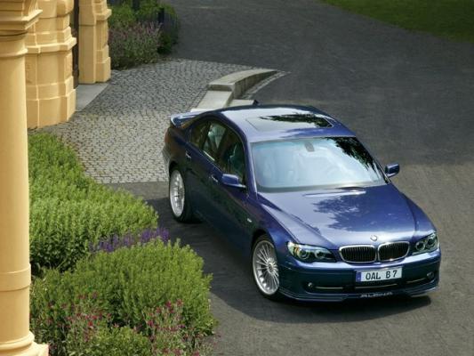Альпинская баллада / Тест-драйв BMW ALPINA B7