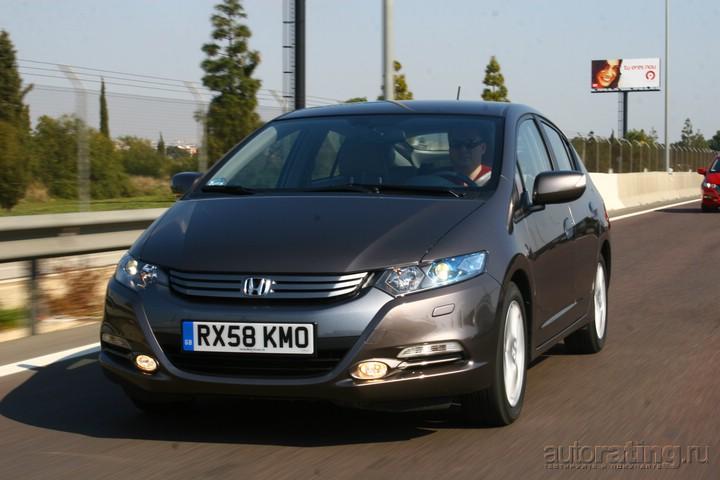 Honda Insight: массовая гибридизация