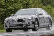 Новый Audi A8 замечен во время тестов
