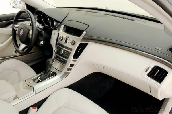 Новая точка отсчета / Тест-драйв Cadillac CTS