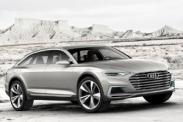 Концепт Audi prologue получил полный привод и мощную гибридную установку