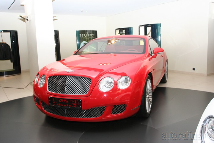 Bentley Continental GT: роскошно-технологичный коктейль