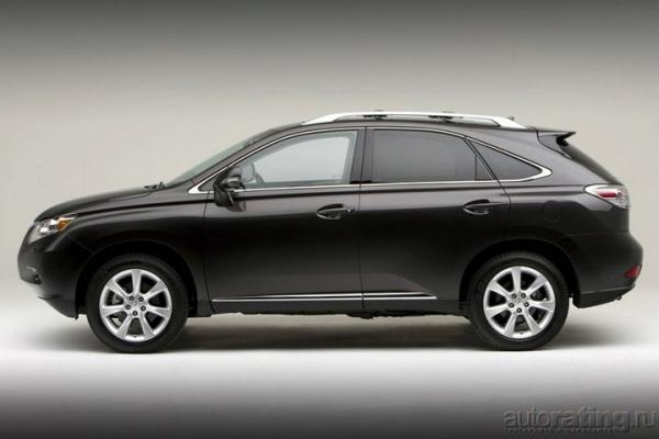 Антиномия / Тест-драйв Lexus RX 350