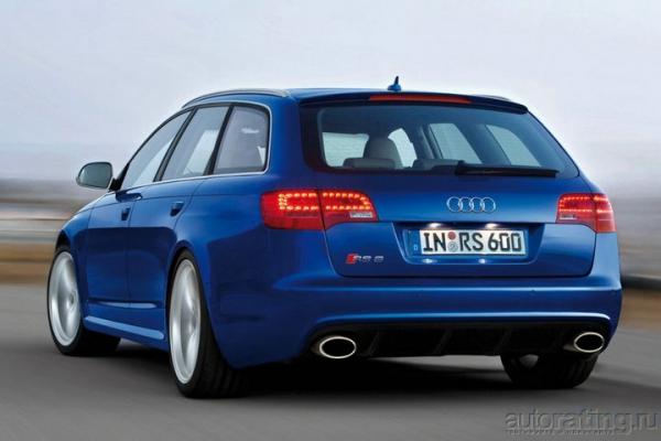 Дрожь и трепет / Тест-драйв Audi RS6