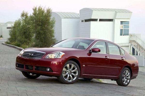 Квинтет полного привода / Тест-драйв Infiniti M35, Mercedes-Benz E-class, Audi A6 и BMW 5 series