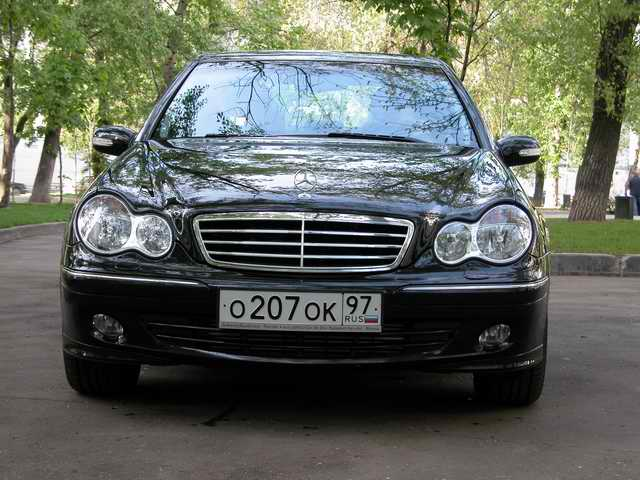 Тест-драйв Мерседес-Бенц С-класс (Mercedes-Benz C230 Kompressor)