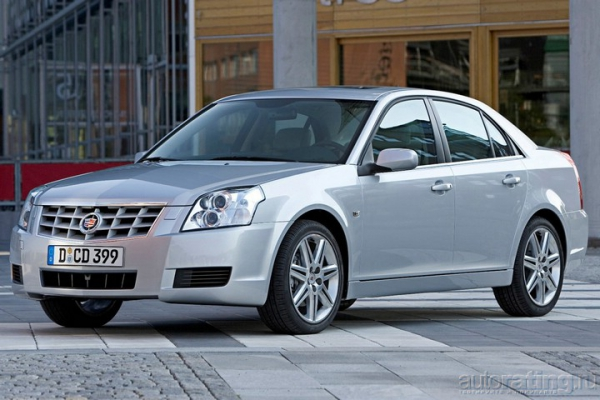 Cadillac BLS /Тест-драйв Cadillac BLS
