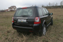 Land Rover Freelander 2: из грязи в сторону города