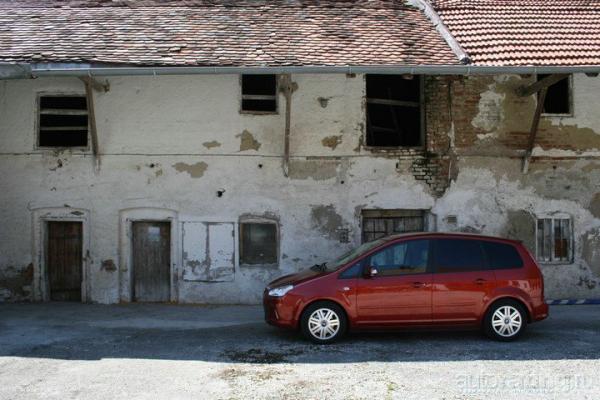 Примерный семьянин / Тест-драйв Ford C-Max