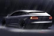 Первые изображения универсала Tesla Model S