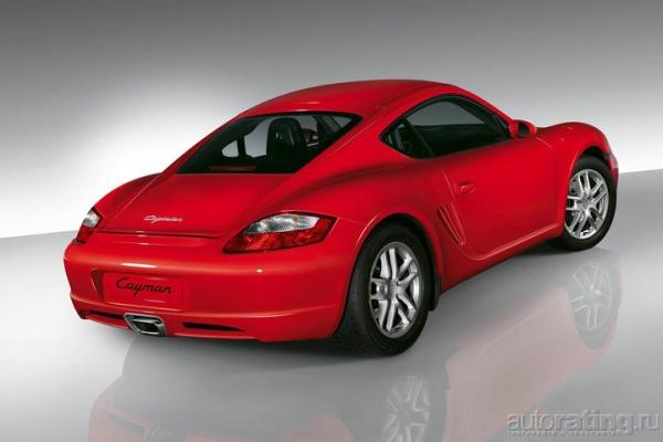 Низколетящий идеал / Тест-драйв Porsche Cayman S