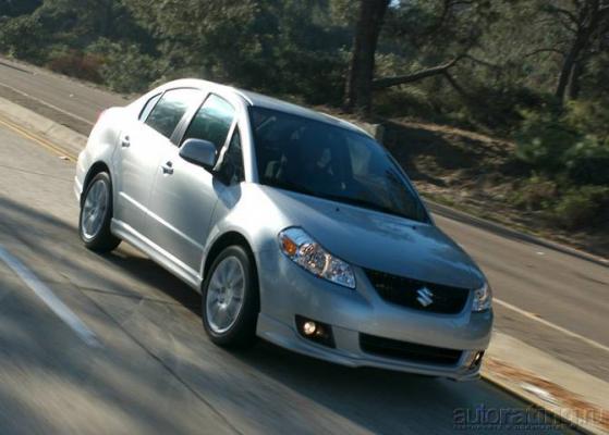 When Iam 64... / Тест-драйв Suzuki SX4 и Subaru Impreza