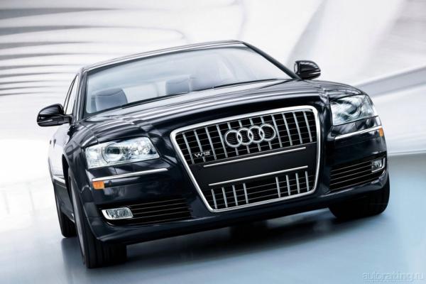 С легким сердцем / Тест-драйв Audi A8 V6 2.8