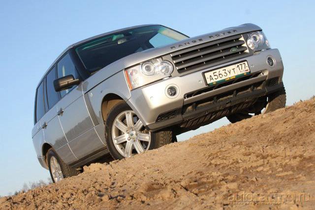 Range Rover: приближенный к королю