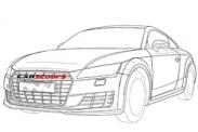 Изображения нового купе Audi TT RS