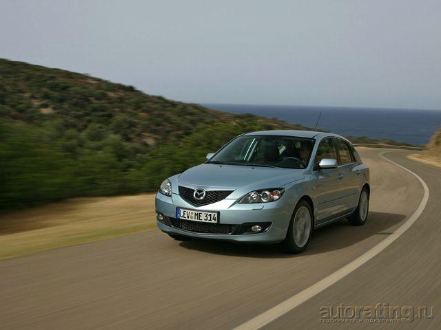 Mazda3 2007 модельный год
