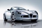 Alfa Romeo-8C Spider-2008