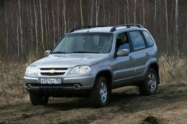 Chevrolet Niva 40000 км