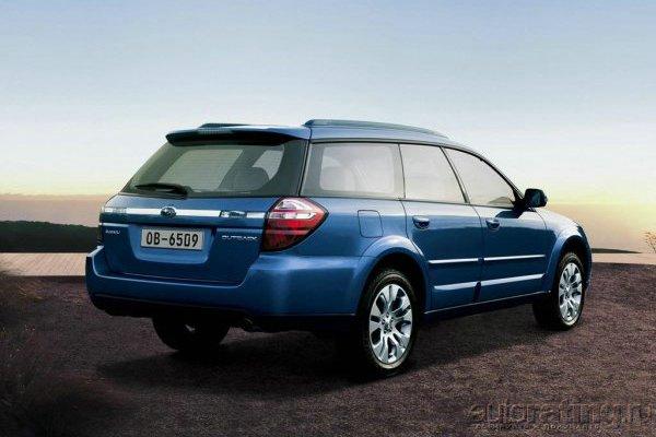 Двойной удар Subaru