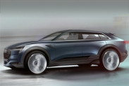 Audi представит новый концепт e-tron quattro во Франкфурте