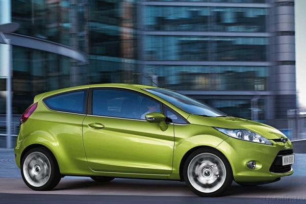 Женское счастье / Тест-драйв Ford Fiesta