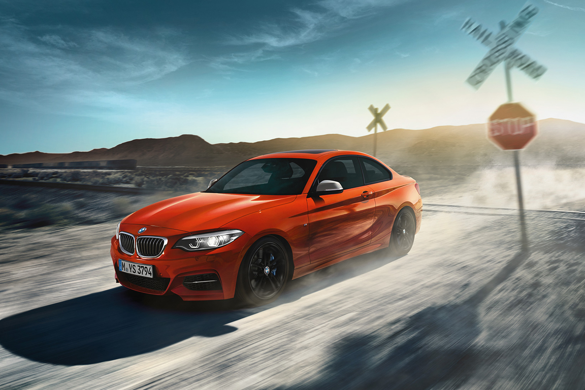 BMW 2 series coupe 2017
