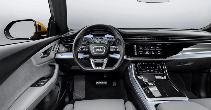 Audi Q8 фото салона