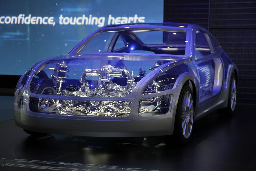 Subaru на Женевском автосалоне
