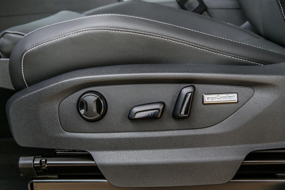 Volkswagen Amarok 2017 Регулировка сидений