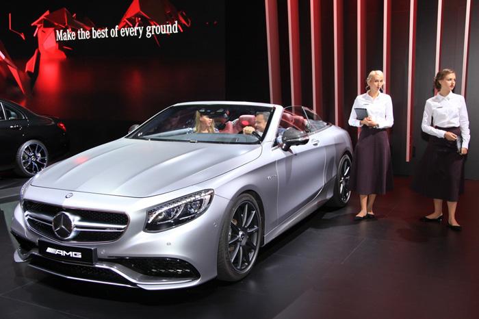 Mercedes-AMG S 63 Cabrio