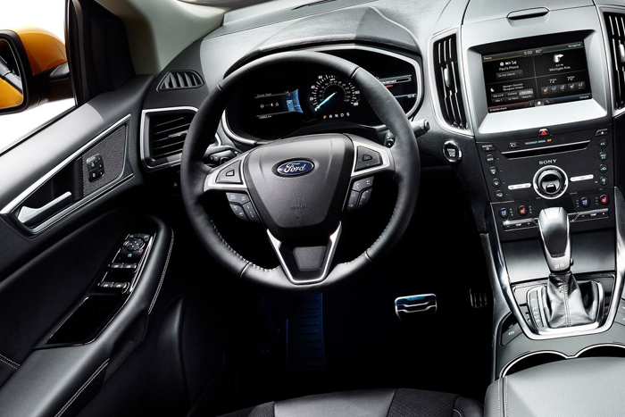 Ford представил новый кроссовер – Edge