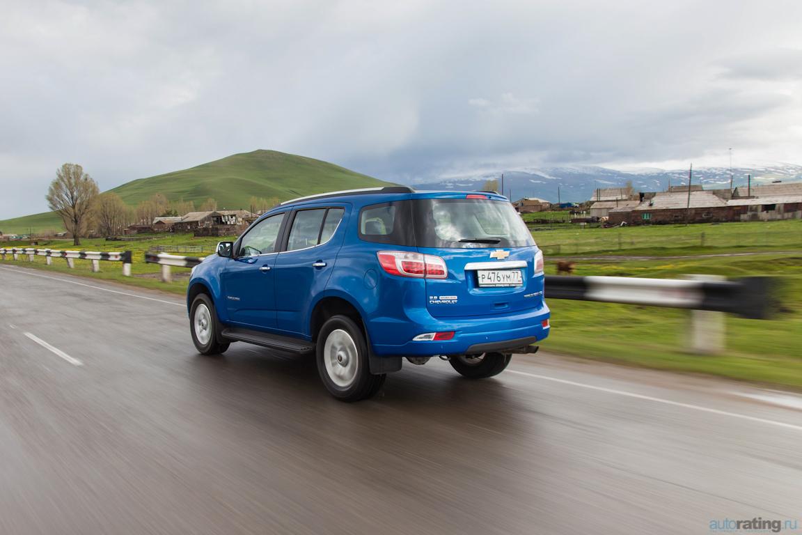 Chevrolet Trailblazer: Снова в строю