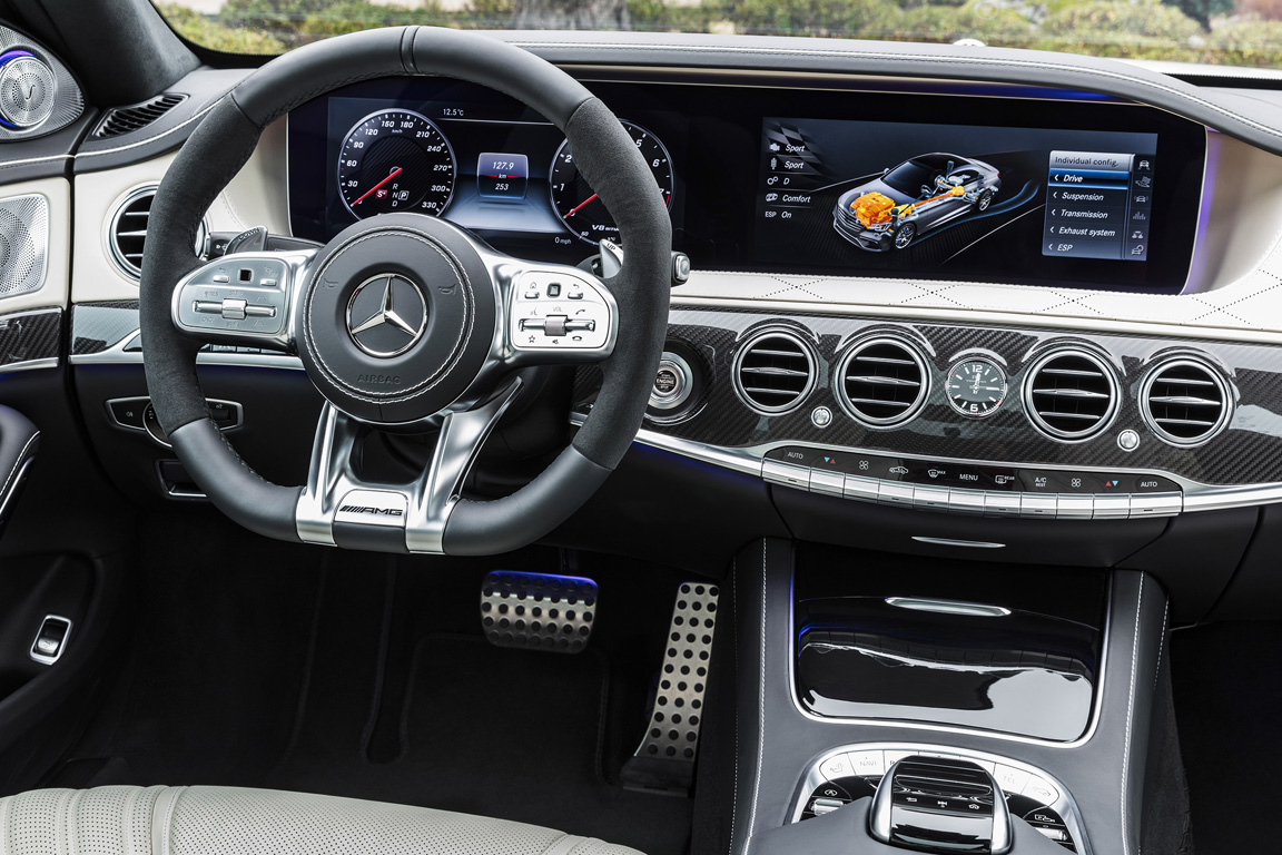 Mercedes-Benz S63 AMG 2017