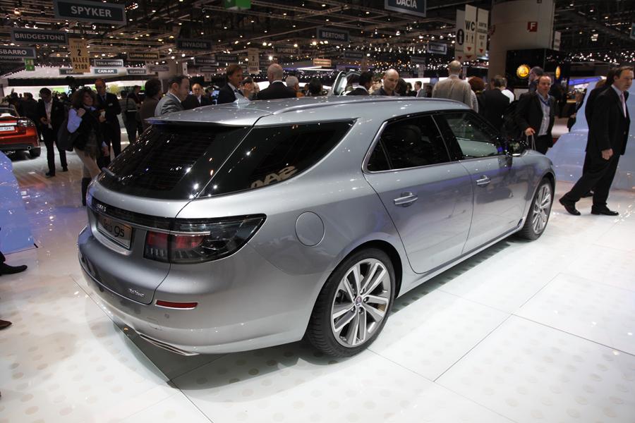 Saab на Женевском автосалоне