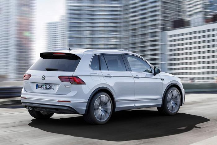 Стало известно, когда новый VW Tiguan появится в РФ