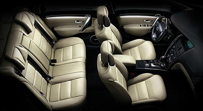 Nissan Teana Interior 2012