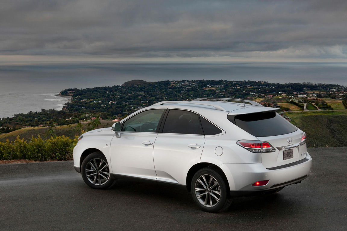 Lexus RX: Оздоровительная гимнастика
