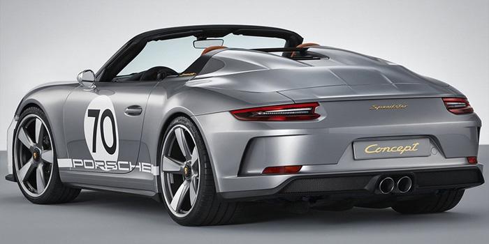 Porsche подготовила кюбилею 500-сильный спорткар 911 Speedster