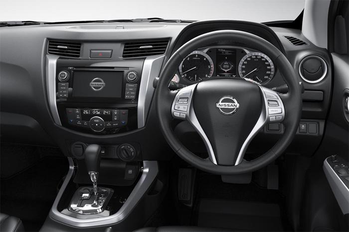 Nissan Navara Interior Ниссан Навара Интерьер 2015