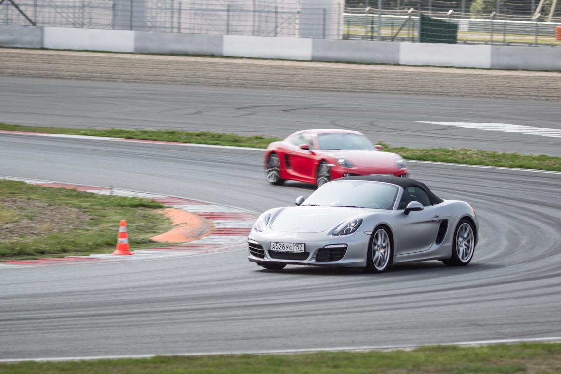 Porsche Track Day – впервые в России