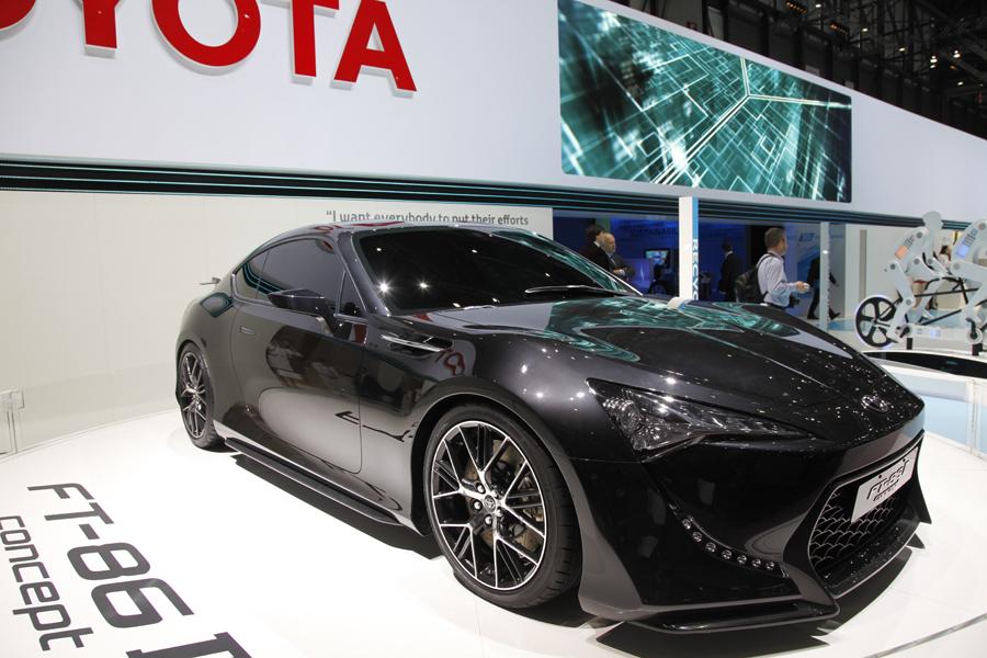 Toyota на Женевском автосалоне