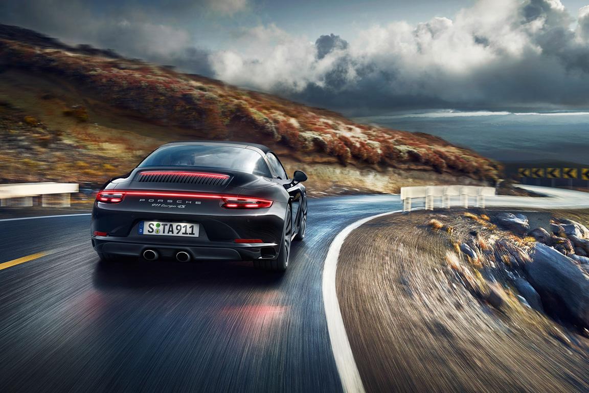 Porsche 911 Targa 2015