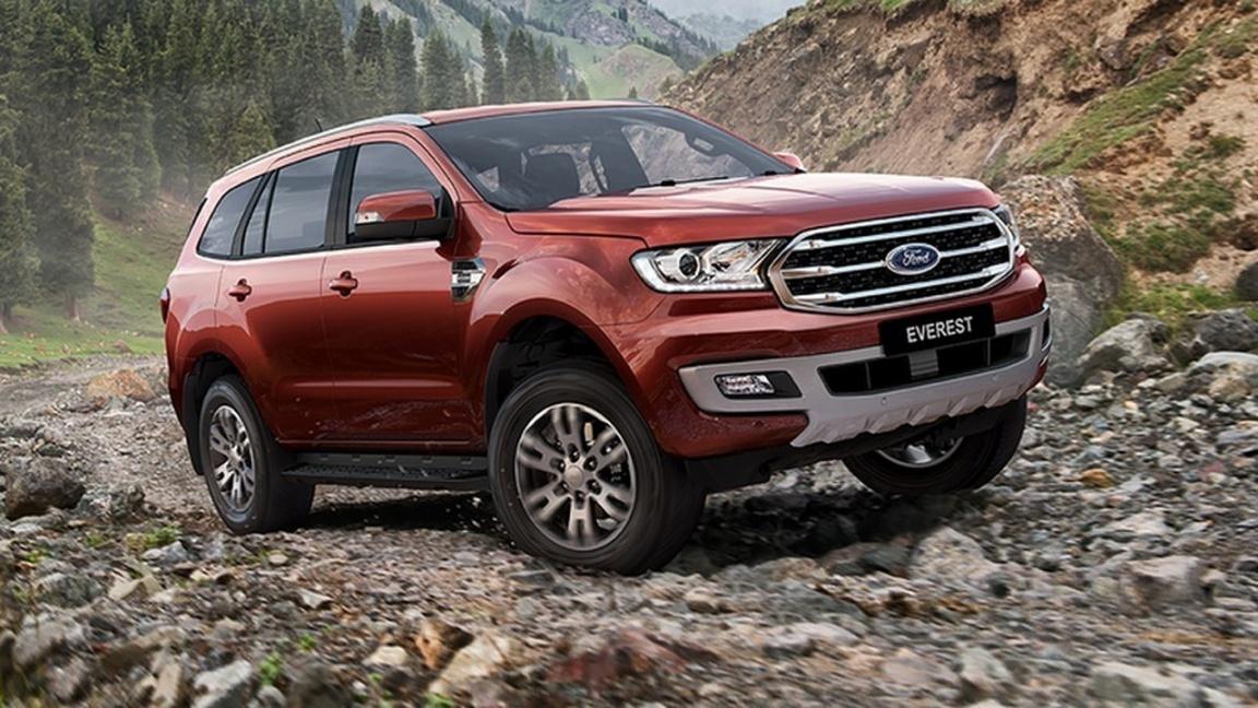 Ford представил обновленный внедорожник Everest 2019