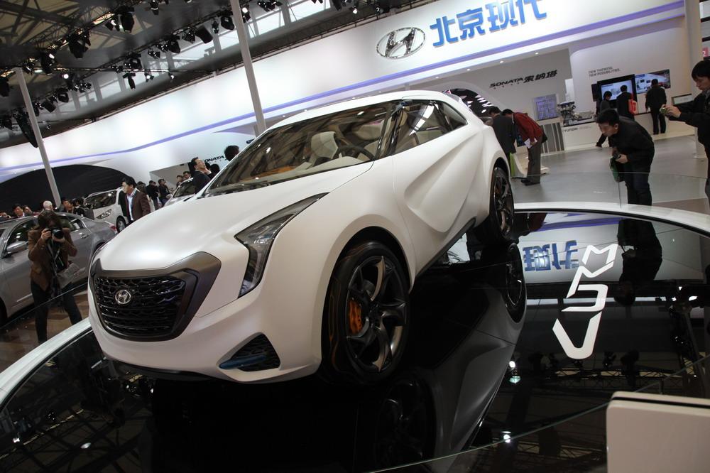 Hyundai на автосалоне в Шанхае