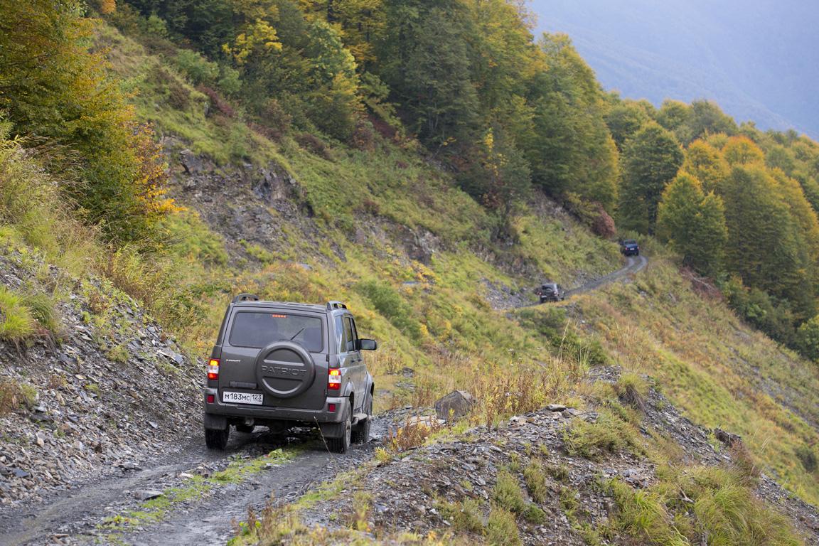 UAZ Patriot: Тайны Абхазских гор